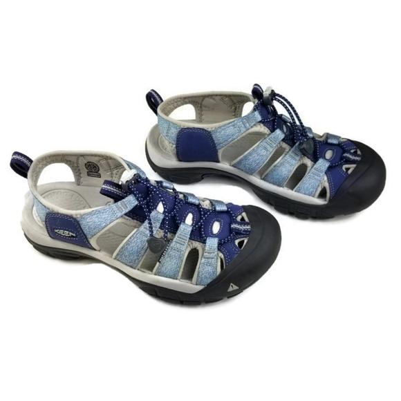 7926f1ca7a5e Keen Shoes - Keen Size 7.5 Blue Newport H2 Waterproof Sandals
